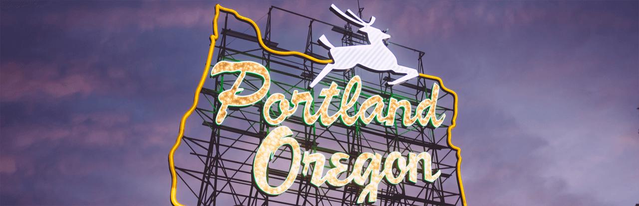 Portland Oregon banner
