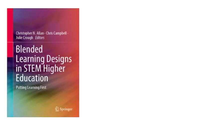 Image of the Blended Learning Designs in STEM Higher Education book