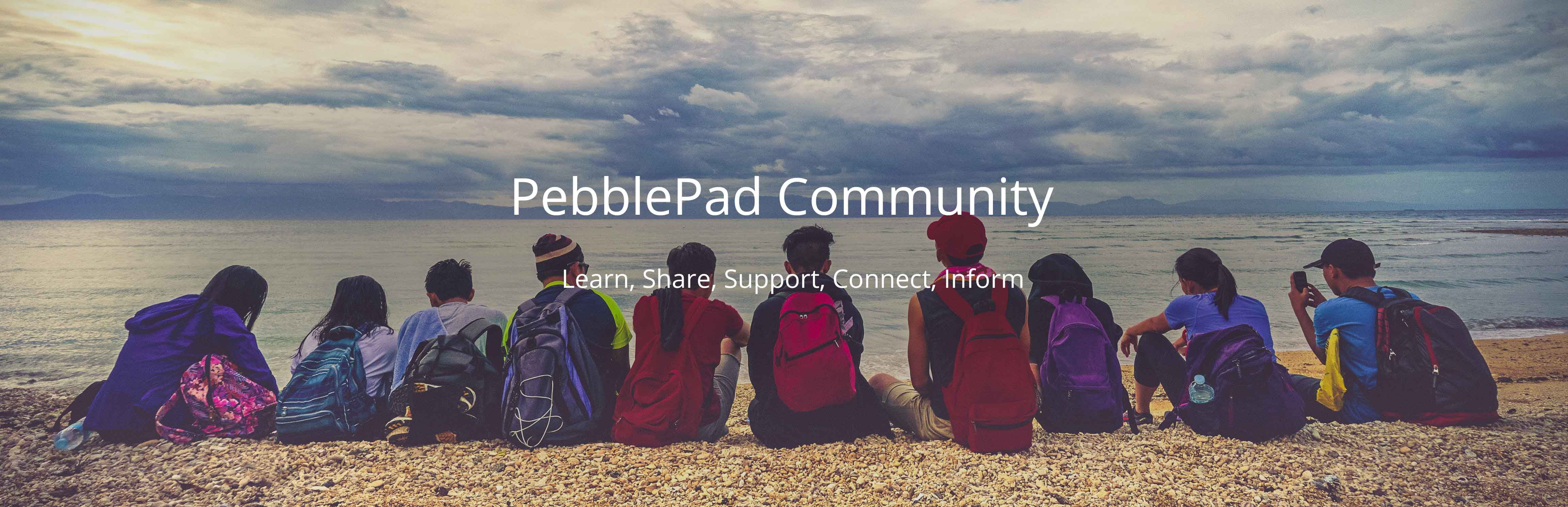 PebblePad Community - Learn, Share, Support, Connect, Inform